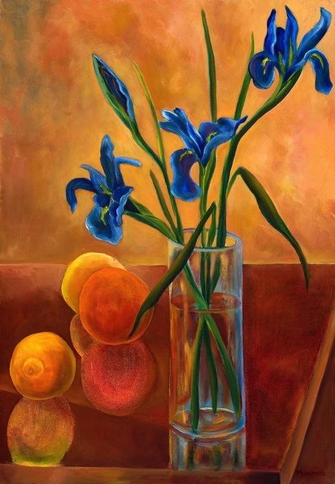 Irises-and-Oranges