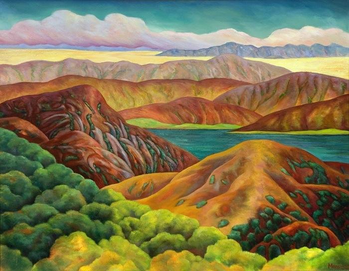 Mountain-Reservoir