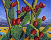 Prickly Pear and Palo Verde